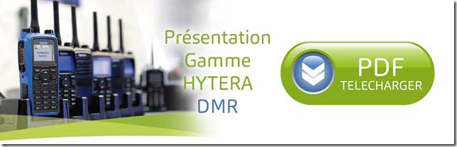 HYTERA - gamme de radiocommunication portative